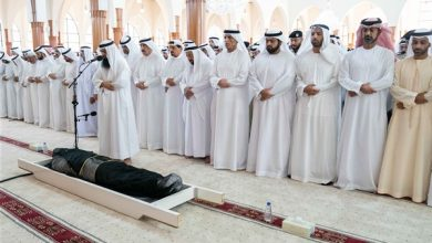 حلم صلاة الجنازة