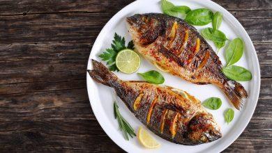 اكل الاسماك